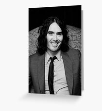 Russell Brand - comedian - actor - superstar Greeting Card