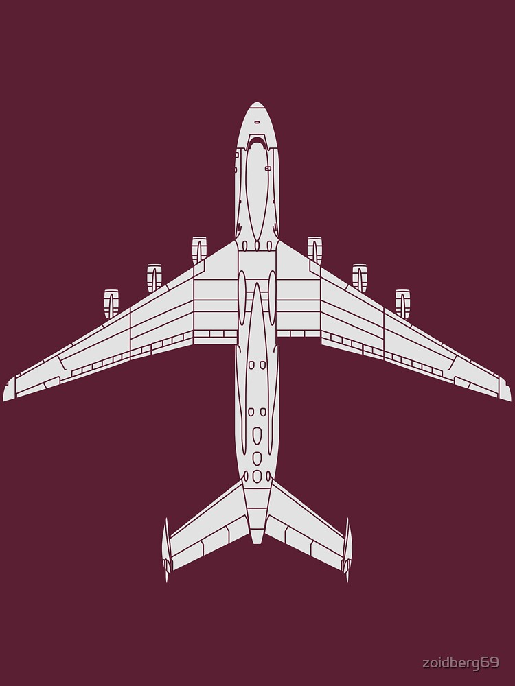 Antonov 225 (An-225) Mriya by zoidberg69