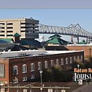New Bridge from Downtown Parking Structure by Sharon Elliott-Thomas