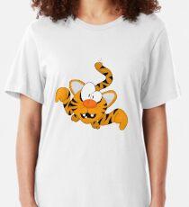 Cartoon tiger Slim Fit T-Shirt