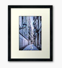 Urban Street Framed Print