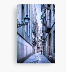 Urban Street Canvas Print