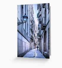 Urban Street Greeting Card