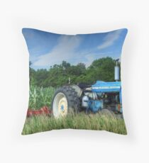 Ford 5000 Tractor Throw Pillow