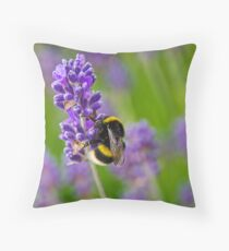 Lost In Lavender Throw Pillow