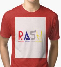 RASH: Rangers against Saban Hackjobs Tri-blend T-Shirt