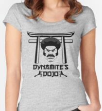 Dy-Nooo-Mite Women's Fitted Scoop T-Shirt
