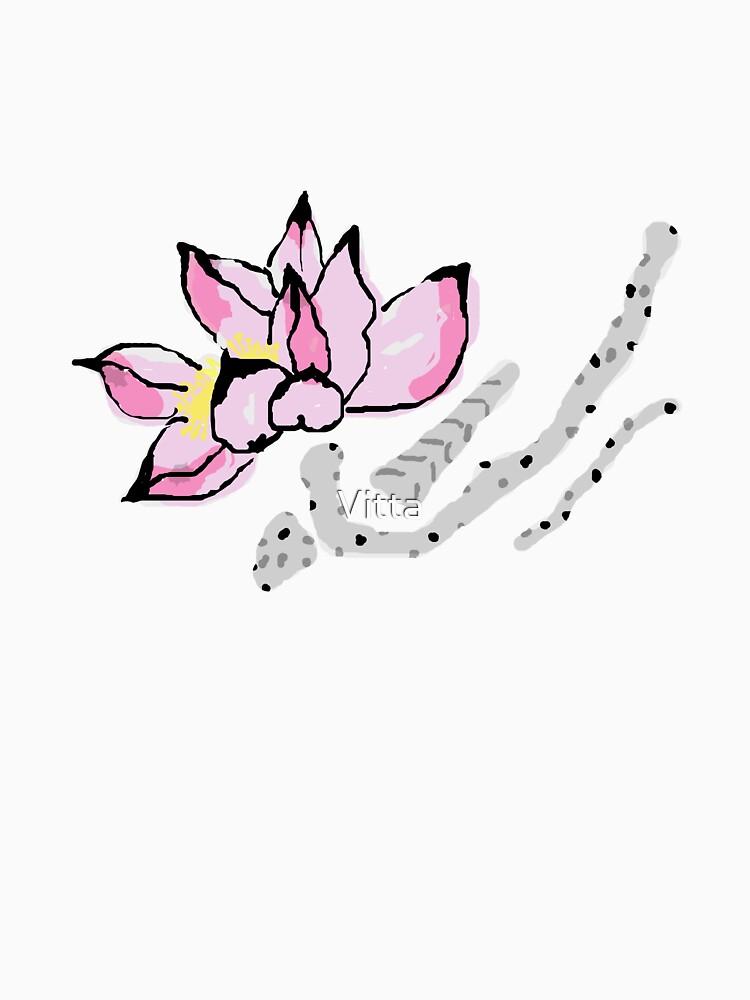 Pink Lotus by Vitta