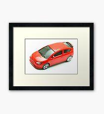 Model car Framed Print