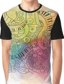 Sheet Music piano  Graphic T-Shirt