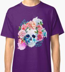 Skull flower art Classic T-Shirt
