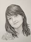 Portrait of my sister by SFlora