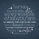 Twinkle Twinkle – 2:3 – Denim  by Janelle Wourms