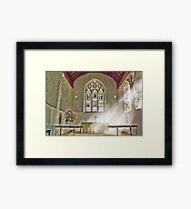 St Nicholas Offham Chancel Framed Print