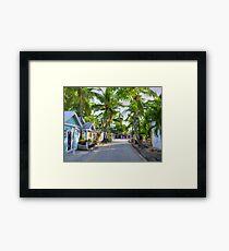 Historic Seaport Framed Print