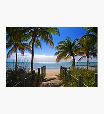 Smathers Beach, Key West Photographic Print