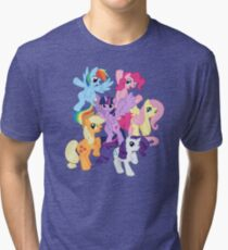 My Little Pony Group Tri-blend T-Shirt