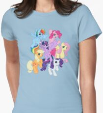 My Little Pony Group Women's Fitted T-Shirt