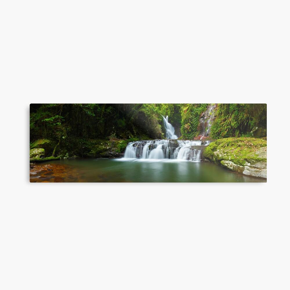 Elabana Falls, Lamington National Park, Queensland, Australia Metal Print