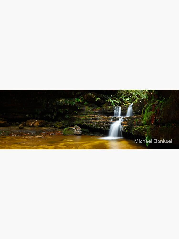 Terrance Falls, Hazelbrook, Blue Mountains, New South Wales, Australia by Chockstone