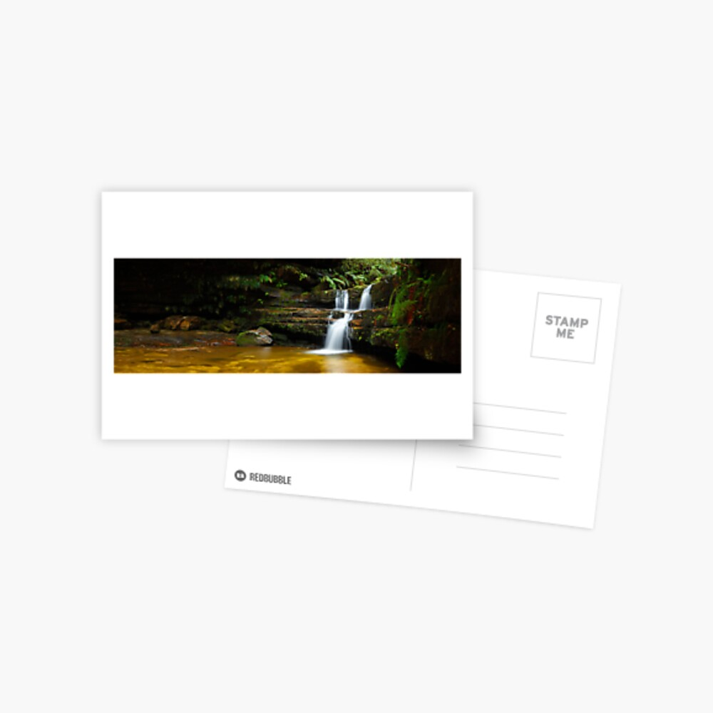 Terrance Falls, Hazelbrook, Blue Mountains, New South Wales, Australia Postcard