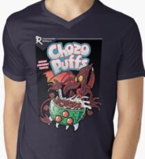 Chozo Puffs Mens V-Neck T-Shirt