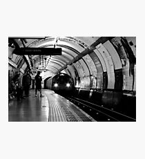 London - The Piccadilly Line, Earl's Court Photographic Print