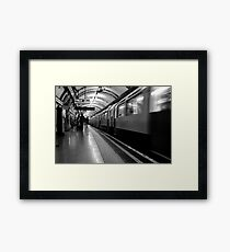 London - The Piccadilly Line Earl's Court 2 Framed Print