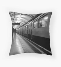 London - The Piccadilly Line Earl's Court 2 Throw Pillow