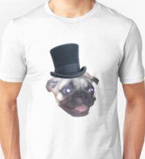 Top Hat Pug T-Shirt