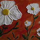 Matilija Poppy Flowers by Guy Wann