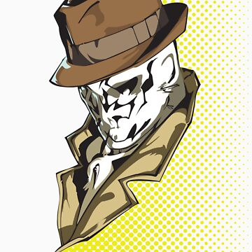 Rorschach bust variant by benenor90