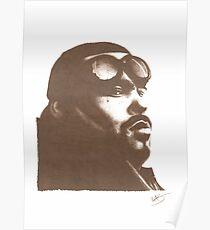 Big Pun - Pencil Portrait Poster