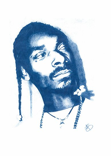 Snoop Doggy Dogg - Pencil Portrait by Mark563