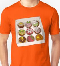 Christmas Cup Cakes Unisex T-Shirt