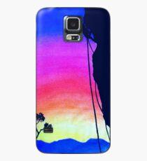 Sunset Rock-Climbing Case/Skin for Samsung Galaxy
