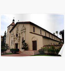 Santa Clara de Asis Mission Poster