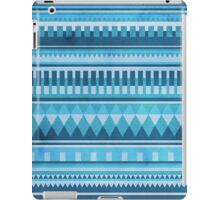 Blue Aztec Pattern iPad Case/Skin