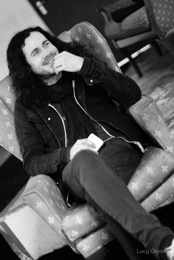 Jesse Carrol - Manager of Red Jumpsuit Apparatus by Lucy Onions