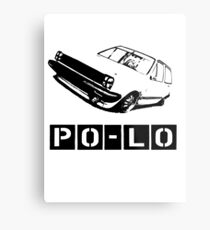 Lo VW Polo vector T-Shirt Metal Print