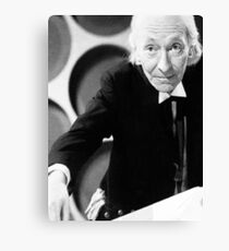 William Hartnell Canvas Print