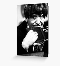 Patrick Troughton Greeting Card
