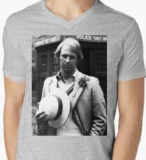 Peter Davison Men's V-Neck T-Shirt