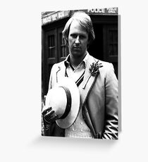 Peter Davison Greeting Card