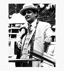 Sylvester McCoy Photographic Print