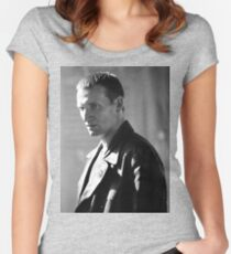 Christopher Eccleston Women's Fitted Scoop T-Shirt