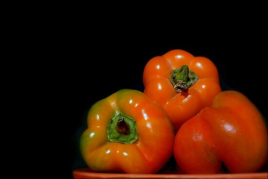 Peter's Perfect Peppers by paintingsheep