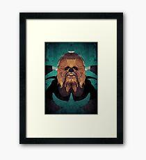 Chewbacca Framed Print