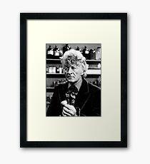 Jon Pertwee Framed Print