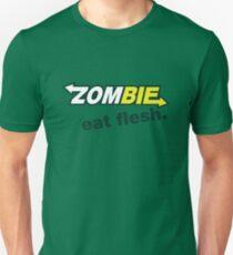 Zombie- Eat Flesh. Unisex T-Shirt